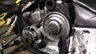 Skidoo Rev 800 secondary clutch cleaning Episode 3