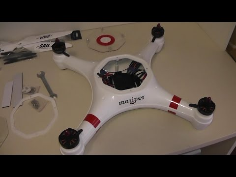 Review FPV Factory Mariner All weather waterproof Quadcopter