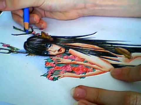 Faber Castell Pencils Drawings Coloring With Faber Castell