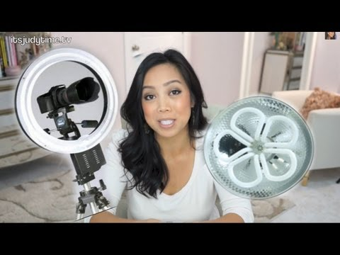Lighting Set Up for my Beauty Videos  - ItsJudyTime