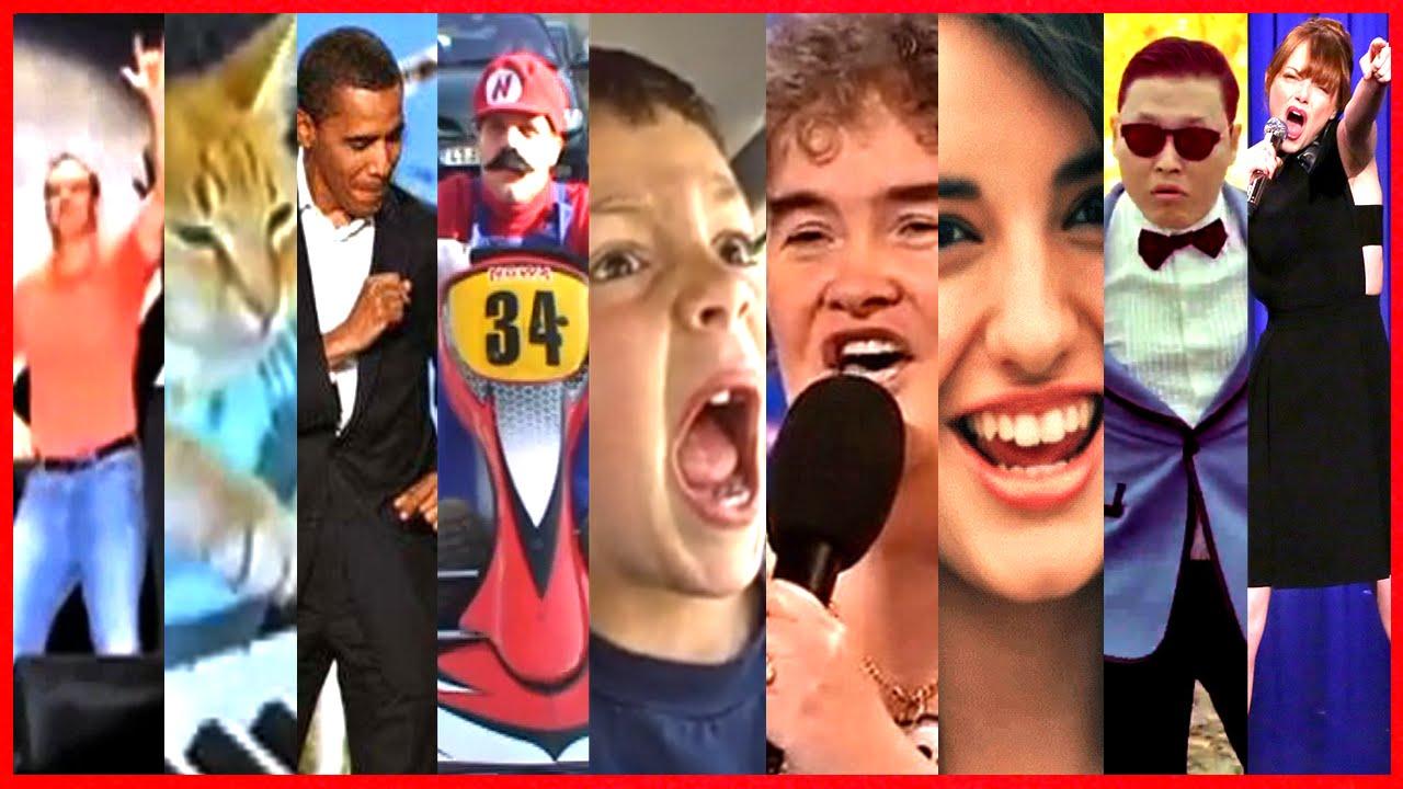 10 ans de YouTube : l'évolution des vidéos virales