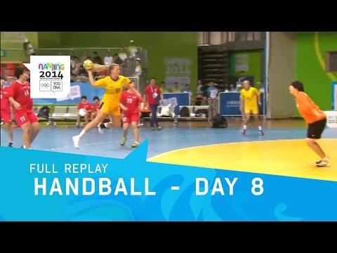 Handball - Women's Semi Final Day 8   Full Replay   Nanjing 2014 Youth Olympic Games