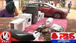Hyderabad Police Arrest Man For Credit and Debit Cards Cloning   Teenmaar News