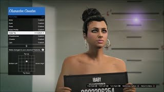 How To Make A Hot Girl Character   Female Character Creation GTA Online