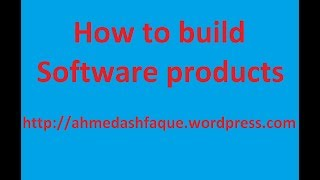 How to build software products - part 3 - Business logic design