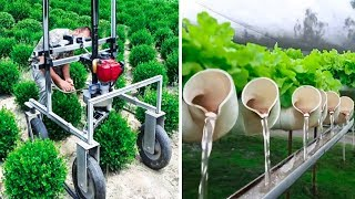 INGENIOUS AGRICULTURAL IDEAS AND INVENTIONS FOR MAXIMUM PRODUCTIVITY