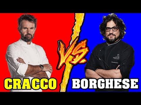 Carlo Cracco VS Alessandro Borghese - Battaglia Rap Epica - Manuel Aski