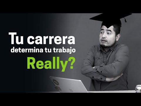 La carrera que estudies determinará tu empleo, decían