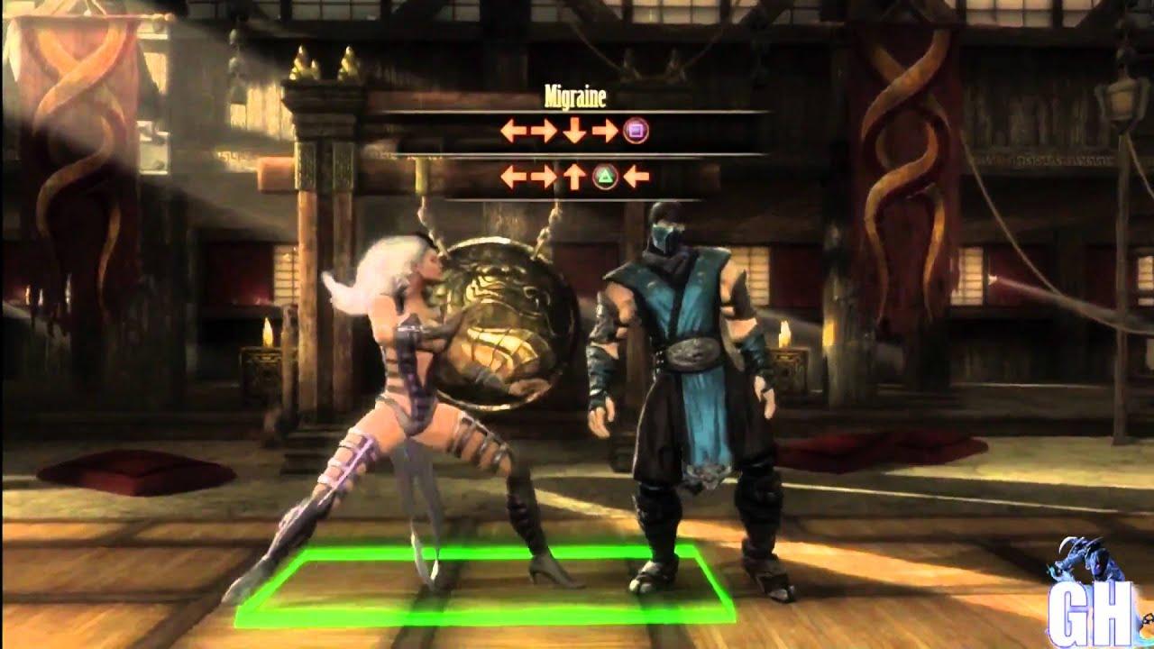 Mortal Kombat 9 - SINDEL - Babality - YouTube