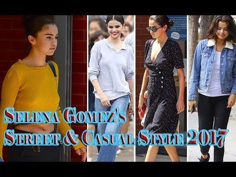 Selena Gomez's Street & Casual Style 2017 thumbnail