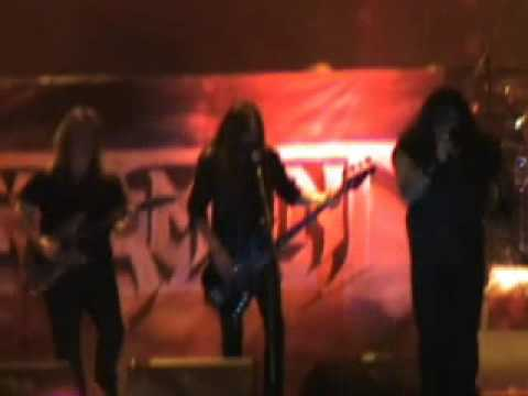 TESTAMENT MEXICO 2008 THE FORMATION OF DAMNATION WHIT GLEN DROVER ON GUITAR