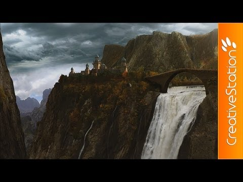 Rivendell - Speed art, VFX ( #Photoshop, After Effects ) | CreativeStation