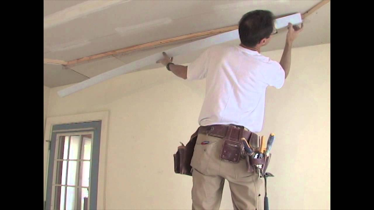 Tray Ceiling Youtube