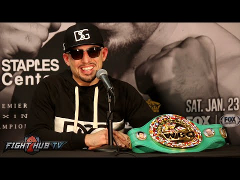 Danny Garcia vs. Robert Guerrero Full Video- COMPLETE Post Fight Press Conference