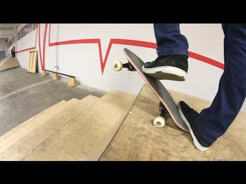 Tiny Skateboard BIG Trick! / Warehouse Wednesday!