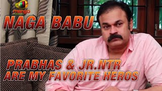 Apart From Mega Heros I Like Prabhas and Jr.NTR, says Naga Babu @ Q & A - Part 6