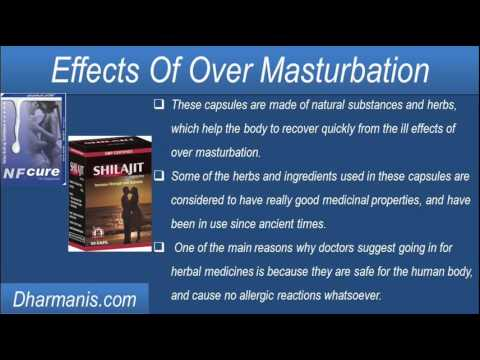What Are The Harmful Effects Of Over Masturbation On The Male Body? video
