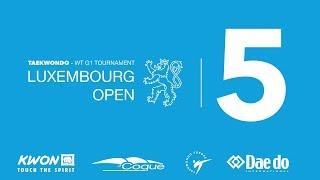 Taekwondo Luxembourg Open 2019 G1 Sunday Court 5