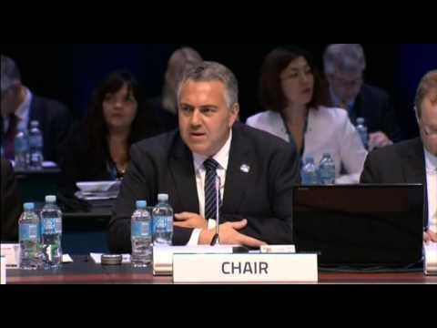 6103 AUSTRALIA-G20 FINMIN MEETING OPENS