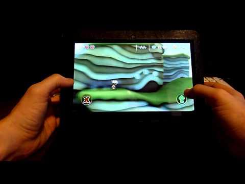 Manuganu - Android Game. Платформер с отличной графикой