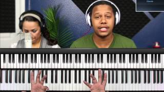 Jesus at the Center :: Jesus Be the Center :: Chords Piano Lesson :: Adding Flavor to Songs