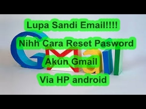 How To Reset Your Gmail Password 'Reset Password Gmail Hp Android '