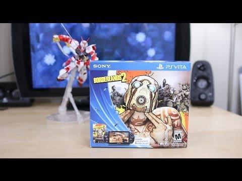 NEW PS Vita Slim Borderlands 2 Bundle Unboxing