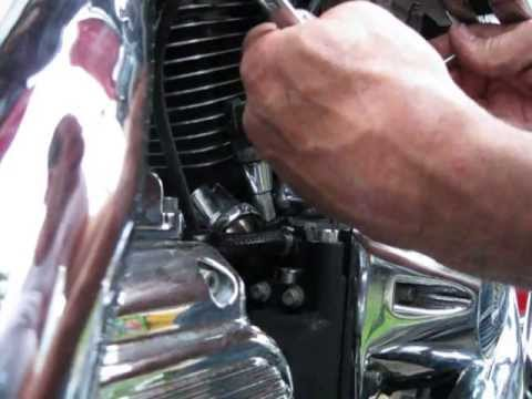 Evo valve adjustment quick install pushrods