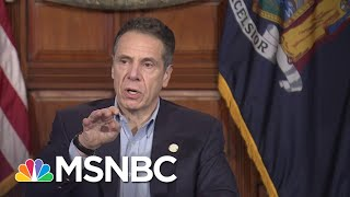 Cuomo Announces Coronavirus Deaths In New York Dropping For The First Time | MSNBC