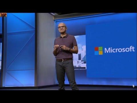 Satya Nadella start keynote at Microsoft Build 2016
