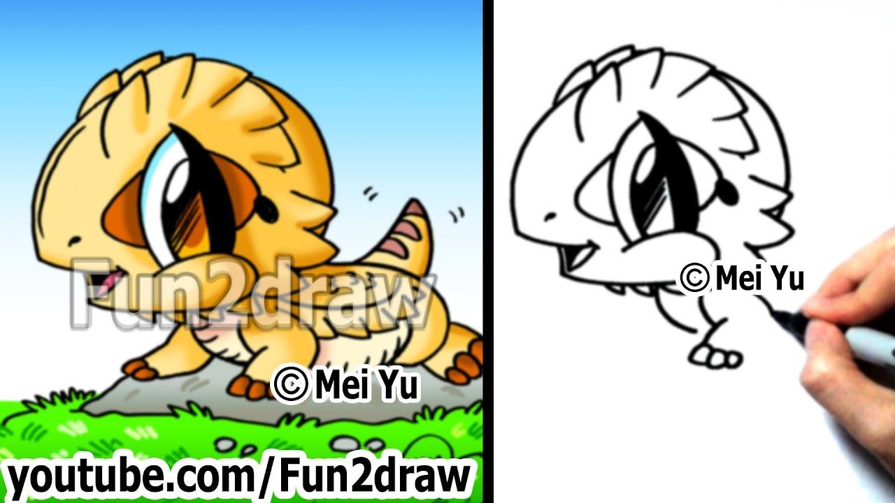 Beard Drawings Draw a Bearded Dragon Pet