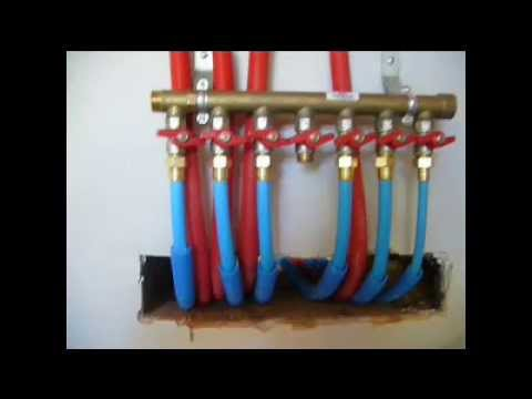 Installation chauffage central multicouche