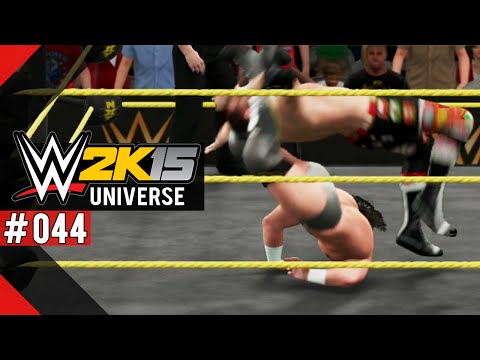 Wwe 2k15 Universe [ps4] #044 - Fucking Submissions -.- ● Let's Play Wwe 2k15 Universe video