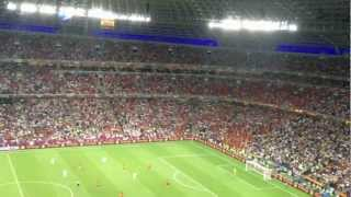 Spain - Portugal(4:3 Penalty) 2012. Wave! Euro 2012