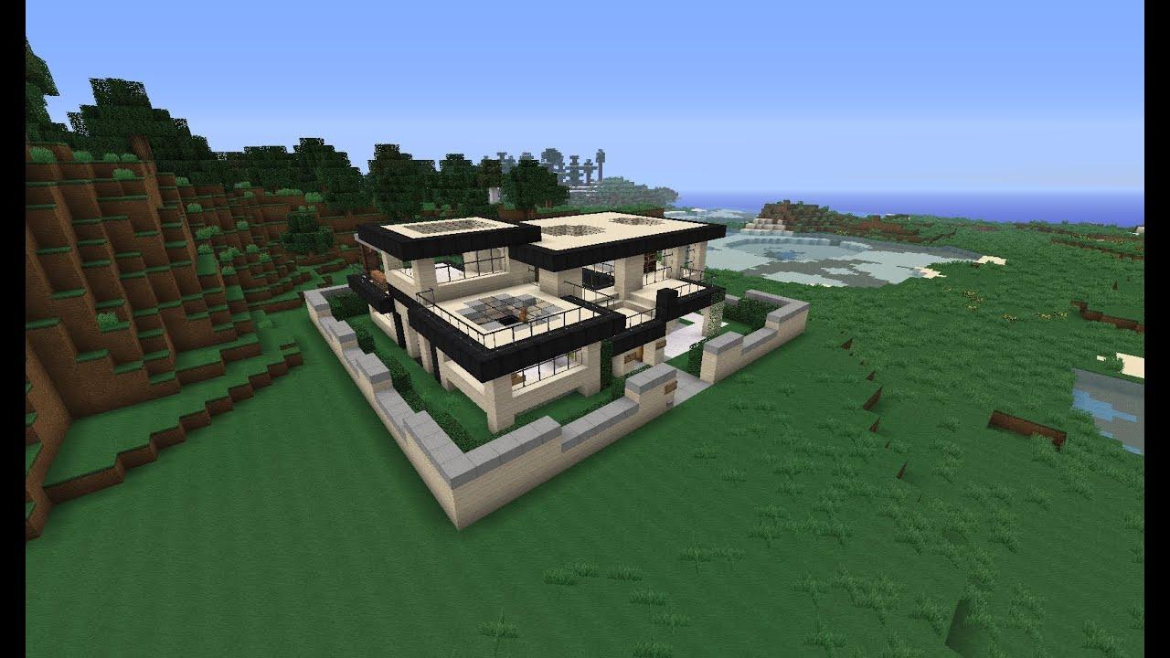 Minecraft Modernes Haus
