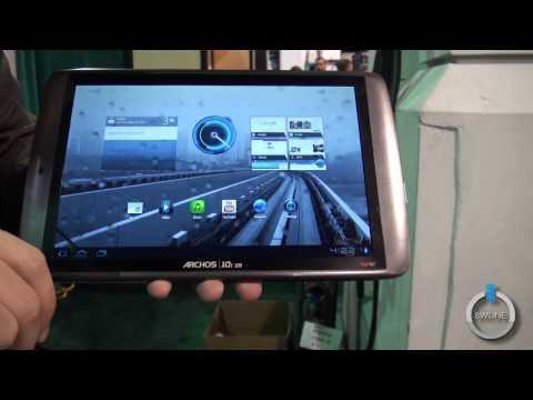 Archos 101 G9 Turbo Tablet Hands-On Demo - CES 2012 - BWOne.com