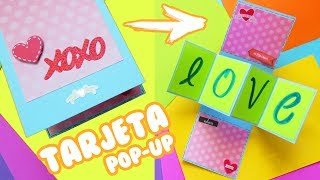 Tarjeta pop-up twist original y facil ❤️❤️ Mariana lugo