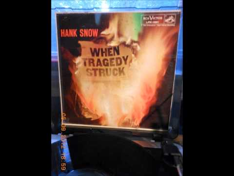 Snow Hank - Letter Edged in Black