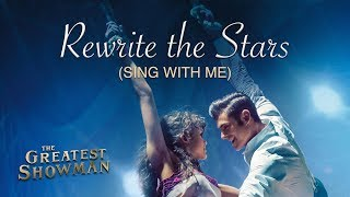 Rewrite The Stars Male Part The Greatest Showman