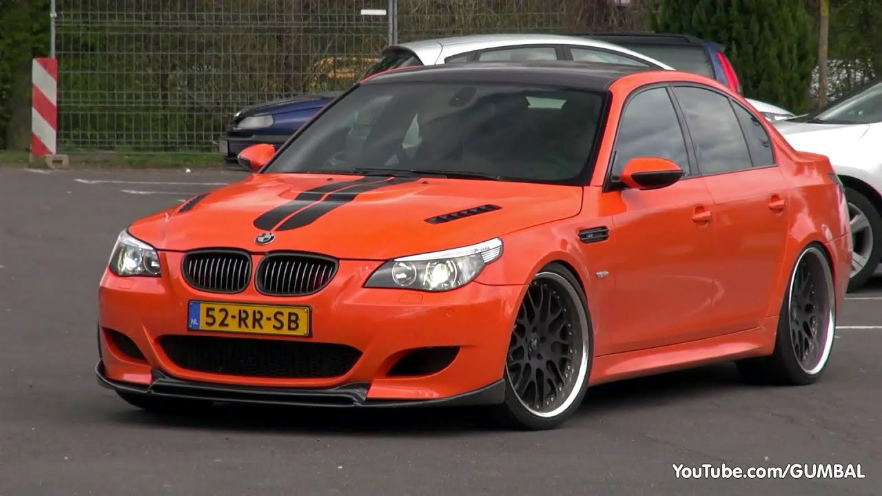 Very Loud Bmw E60 M5 W Eisenmann Race Exhaust Custom X