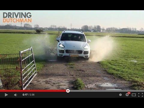 Trailer Porsche Cayenne S E-Hybrid DrivingDutchmanCom