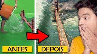 SEGREDOS DE HOLLYWOOD / Antes e Depois!