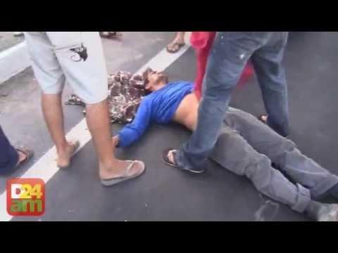 Homem tem o braço decepado em perseguição policial