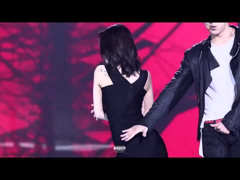 Trouble Maker - Jiyeon T ARA ft Jeong Wook SBS The Show