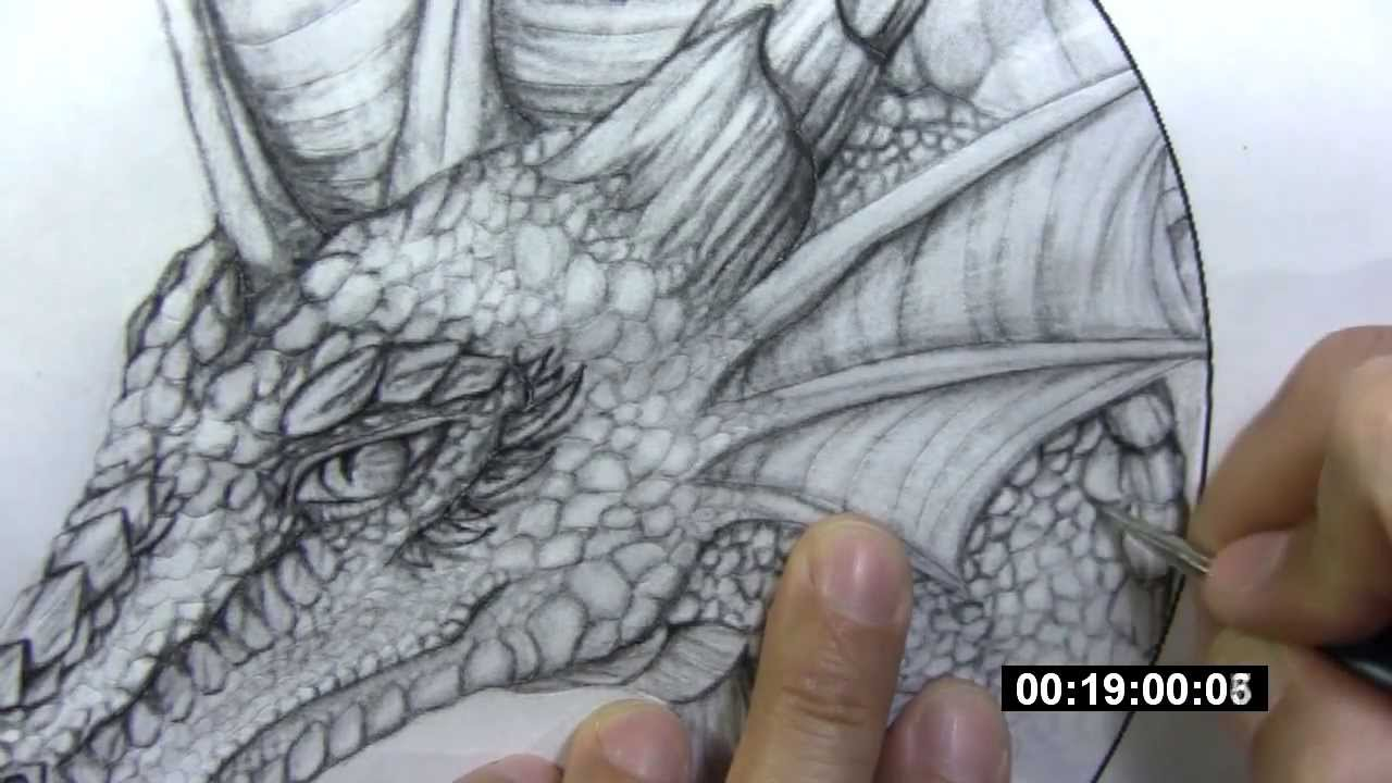Get What Done Make It Right How You >> Leathercraft - dragon tooling (part 1) - transferring image - YouTube