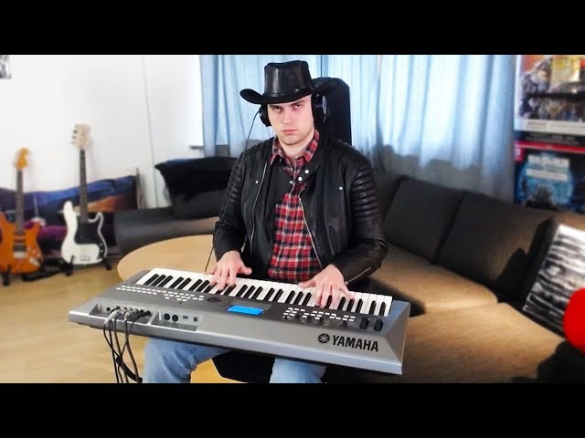 old town road, but played on my synth thumbnail