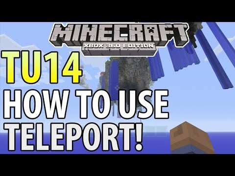 Minecraft (Xbox 360/PS3) - TU14 UPDATE! - HOW TO TELEPORT - TUTORIAL (Guide)