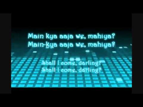 Aaja We Mahiya (lyrics + English Translation) video