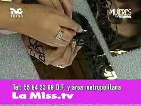 C  Mo Decorar Espejos Con Vitrales  22 08 2011
