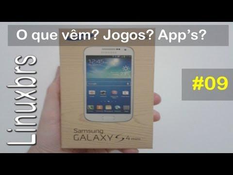 Samsung Galaxy S4 Mini - i9192 - O que vêm nele? App´s? Jogos? - PT-BR - Brasil